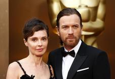 Actor Ewan McGregor and his wife Eve Mavrakis arrive at the 86th Academy Awards in Hollywood, California March 2, 2014.  REUTERS/Lucas Jackson