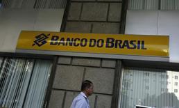 Fachada de uma agência do Banco do Brasil no centro do Rio de Janeiro. 20/08/2014. REUTERS/Pilar Olivares