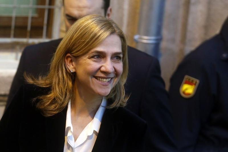 Spanish court upholds charges of tax fraud against Princess Cristina