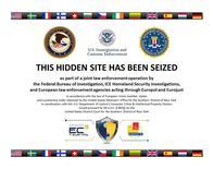 Un pantallazo de la página principal de Silk Road 2.0 luego de ser cerrada por las autoridades de EEUU, 06 noviembre, 2014.  Las autoridades estadounidenses y europeas han arrestado esta semana a 16 supuestos miembros de cibermercados clandestinos de drogas y armas, así como a un supuesto operador de la red conocida como Silk Road 2.0, dijo el viernes la agencia policial europea Europol.  REUTERS/Staff