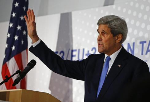 Kerry says progress in Iran talks with major powers, tough road ahead
