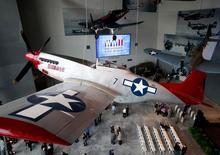 """Interior do """"Pavilhão da Liberdade dos EUA: O Centro da Boeing"""", parte do Museu Nacional da Segunda Guerra Mundial, em Nova Orleans, nos Estados Unidos, no ano passado. 12/01/2013 REUTERS/Sean Gardner"""