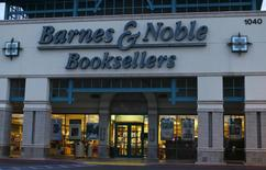 A Barnes & Noble book store is shown in Encinitas, California  September 9, 2014. REUTERS/Mike Blake