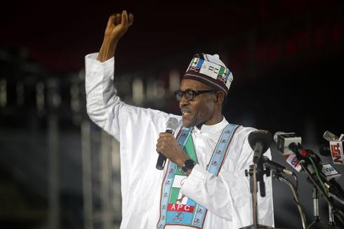 Nigerian ex-military ruler Buhari wins opposition presidential ticket