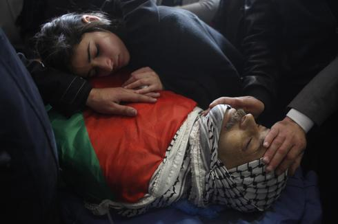 Funeral for Palestinian minister