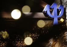 Global Resorts, le véhicule d'investissement de l'homme d'affaires italien Andrea Bonomi, ne relèvera pas son offre sur Club Méditerranée et a l'intention de la retirer.  Le milliardaire chinois Guo Guangchang a relevé son offre sur le groupe de loisirs le 19 déembre, poursuivant la bataille qui l'oppose au financier italien Andrea Bonomi pour le contrôle du groupe de loisirs.  /Photo prise le 22 décembre 2014/REUTERS/Christian Hartmann