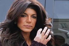 Teresa Giudice, 41, arrives at the Federal Court in Newark, New Jersey, March 4, 2014. REUTERS/Eduardo Munoz