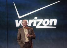 Presidente-executivo da Verizon, Lowell McAdam. REUTERS/Rick Wilking (UNITED STATES - Tags: BUSINESS SCIENCE TECHNOLOGY) - RTR3C8AO