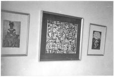 Imagen cedida a Reuters de obras del pintor Diego Rivera decorando la casa de Guillermo G. Marmol en Mariano, Cuba. Cuando Gil Marmol y su familia huyeron de Cuba en 1961, el Gobierno revolucionario incautó 17 cuadros que quedaron en el camino, incluidas dos acuarelas del mexicano Diego Rivera. REUTERS/Guillermo G. Marmol/Handout via Reuters  IMAGEN SOLO PARA USO EDITORIAL