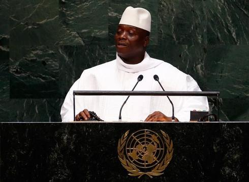 Gambia's President apologizes for linking Britons to failed coup