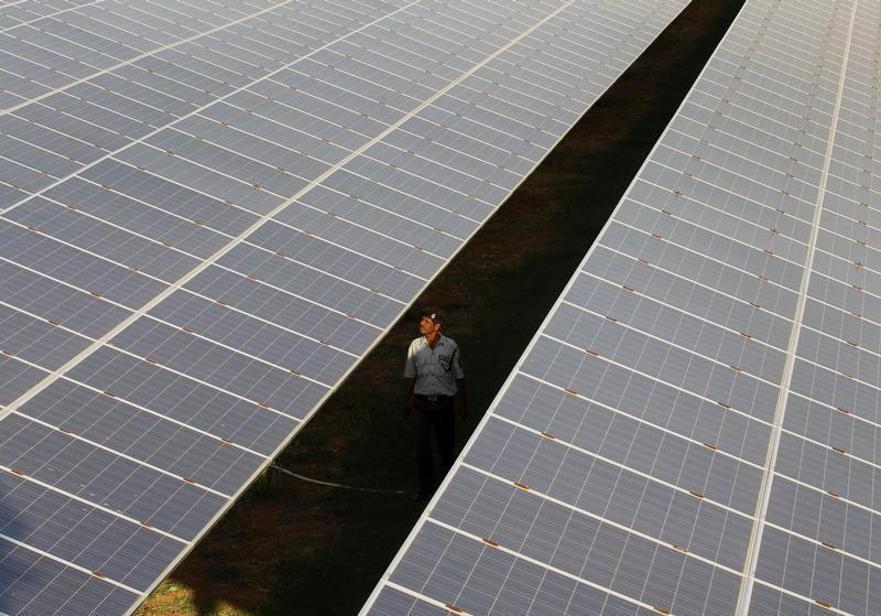 India Builds Solar Plants Atop Canals To Save On Land