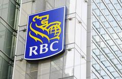 A Royal Bank of Canada (RBC) sign is seen in downtown Toronto March 3, 2011.   REUTERS/Mark Blinch
