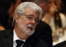 Director and producer George Lucas attends the White House Correspondents Association Dinner in Washington in this April 27, 2013 file photo. REUTERS/Kevin Lamarque/Files