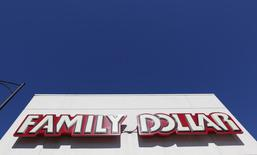 The exterior of a Family Dollar store is seen in Chicago, June 25, 2012.  REUTERS/Jim Young