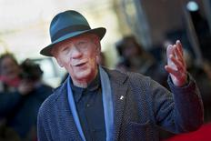 Actor Ian McKellen arrives for a screening of the movie 'Mr. Holmes' at the 65th Berlinale International Film Festival, in Berlin February 8, 2015.  REUTERS/Stefanie Loos