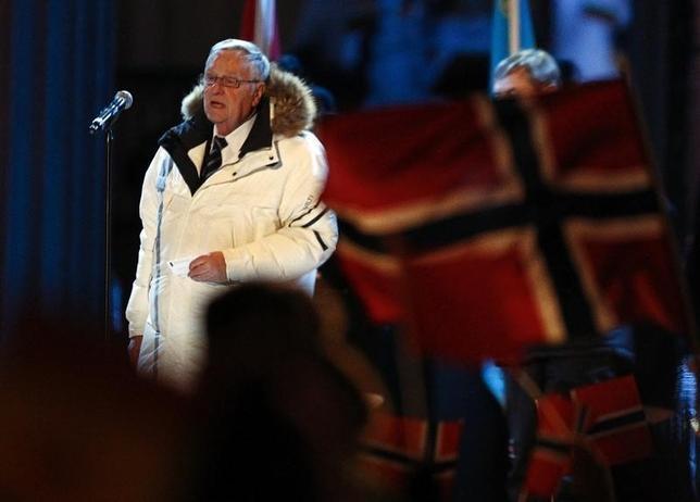 2月9日、国際スキー連盟のジャンフランコ・カスパー会長は、2018年平昌冬季五輪のスキーとスノーボードのテストイベントを来年、予定通りに実施するのは「ほぼ不可能」と述べた。オスロで2011年2月撮影(2015年 ロイター/Michael Dalder)