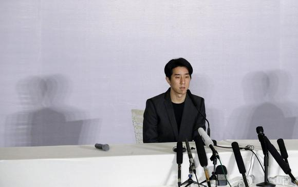 Hong Kong actor Jaycee Chan attends a news conference at a hotel in Beijing, February 14, 2015. REUTERS/Kim Kyung-Hoon
