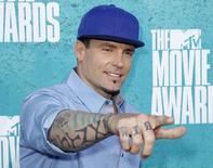 Rapper Vanilla Ice durante evento da MTV em Los Angeles. 03/06/2012   REUTERS/Danny Moloshok