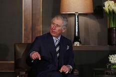 Príncipe Charles, durante encontro com rei Abdullah, da Jordânia, no Palácio Real, em Amã. 8/2/2015 REUTERS/Muhammad Hamed