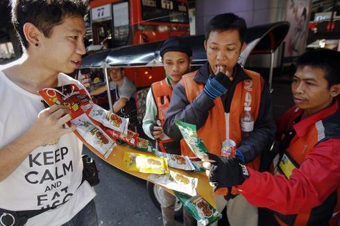 Upmarket bug snacks to creep into Thai store shelves