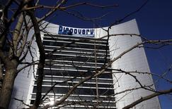 The Discovery Communications headquarters building is seen in Silver Spring, Maryland December 3, 2009.    REUTERS/Brad Bower