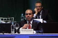 Príncipe da Jordânia, Ali bin al-Hussein, durante reunião da CONMEBOL.    04/03/2015   REUTERS/Jorge Adorno