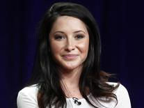 Bristol Palin speaks during a panel discussion at the Disney-ABC Television Group portion of the Television Critics Association Summer press tour in Beverly Hills, California, in this file photo taken July 27, 2012. REUTERS/Fred Prouser/Files