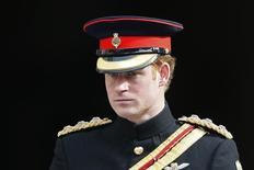 Príncipe Harry, da Grã-Bretanha, em Londres. 13/03/2015 REUTERS/Stefan Wermuth