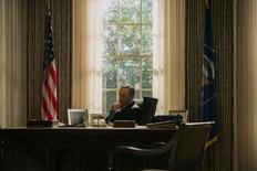 Kevin Spacey as President Frank Underwood in House of Cards. Reuters/Netflix
