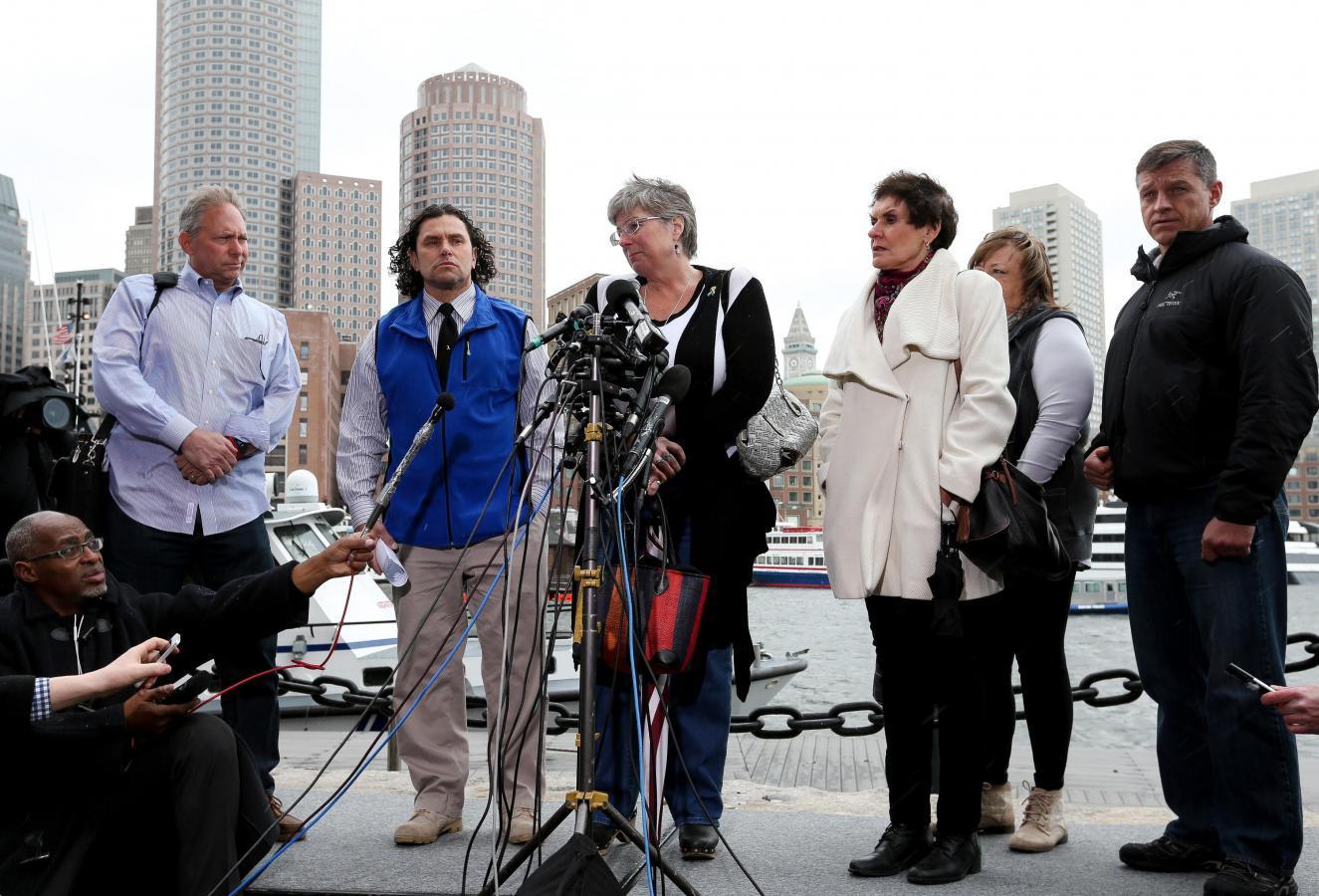 在所有罪状下,Tsarnaev在波士顿的救济被定罪