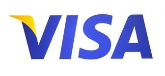 Логотип Visa на выставке CTIA WIRELESS Conference & Exposition в Новом Орлеане 9 мая 2012 года. Международная платежная система Visa завершит перевод внутрироссийских операций на процессинг Национальной системы платежных карт (НСПК) в конце мая - начале июня, сказала зампред Центрального банка РФ Ольга Скоробогатова REUTERS/Sean Gardner