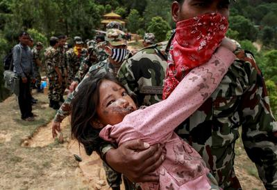 Search and rescue in Nepal