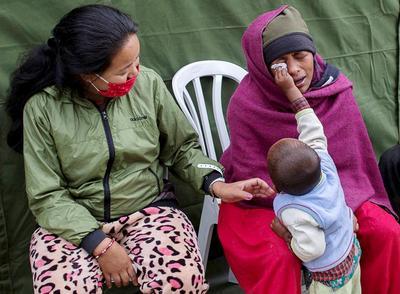 Nepal hit by devastating earthquake