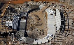 Local de construção do velódromo para Rio 2016.  26/02/2015.  REUTERS/Ricardo Moraes