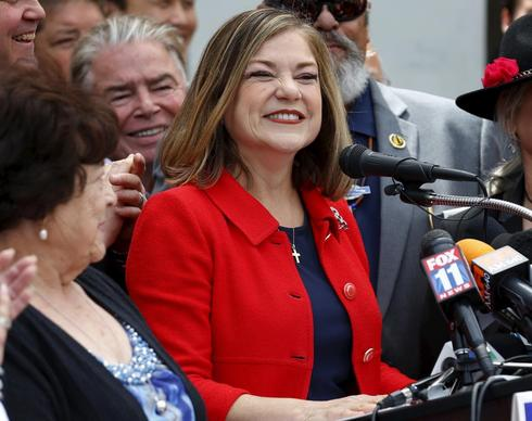 California Senate hopeful Sanchez apologizes for war-whoop reference to Native Americans