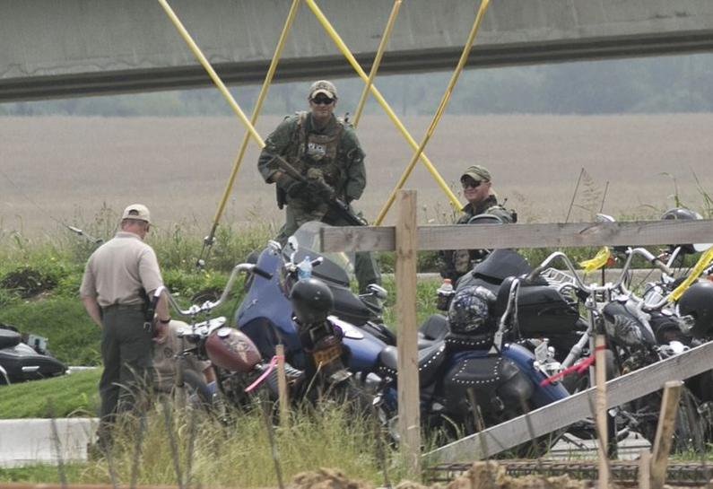 Police want bikers off streets after deadly Texas shooting