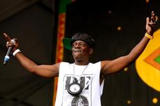 Flavor Flav performs during the first day of the New Orleans Jazz and Heritage Festival in New Orleans, Louisiana April 25, 2014. REUTERS/Jonathan Bachman
