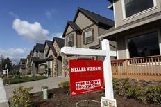 Casas para la venta en el área noroccidental de Portland, Oregon, 20 de marzo de 2014. Los precios de las viviendas unifamiliares de Estados Unidos subieron en marzo respecto del mismo mes del año anterior, mostró el martes un sondeo seguido de cerca por los mercados. REUTERS/Steve Dipaola