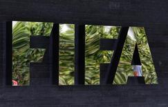 Logo da Fifa em Zurique. 27/05/2015 REUTERS/Ruben Sprich
