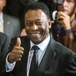 Foto de arquivo de Pelé em Nova York. 17/04/2015 REUTERS/Lucas Jackson