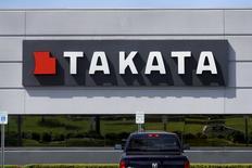 Takata a fait savoir aux autorités américaines qu'il n'utiliserait plus de nitrate d'ammonium comme gaz propulseur de ses airbags, dont l'emploi est lié à six décès depuis 2008. /Photo prise le 20 mai 2015/REUTERS/Rebecca Cook