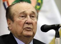 Ex-presidente da Conmebol Nicolás Leoz 23/4/2013  REUTERS/Jorge Adorno