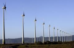 Parque eólico na cidade de Osório, em foto de arquivo. 30/11/2007 REUTERS/Jamil Bittar