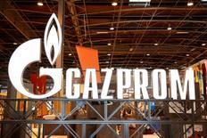 Gazprom a conclu un accord avec certains de ses principaux clients européens, l'anglo-néerlandais Shell, l'allemand E.ON et l'autrichien OMV, pour construire un nouveau gazoduc à destination de l'Allemagne via la mer Baltique. /Photo d'archives/REUTERS/Benoît Tessier