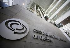 El edificio de Caisse de Dépôt et Placement du Québec (CDPQ), en Montreal, 26 de febrero de 2014. La constructora mexicana Empresas ICA, la mayor del país, dijo el viernes que concretó una anunciada asociación con la administradora de fondos canadiense CDPQ, que operará cuatro carreteras y autopistas de cuota en México. REUTERS/Christinne Muschi