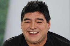 Ex-jogador argentino Diego Maradona. 01/03/2015 REUTERS/Jorge Silva