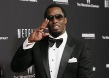"""Sean """"Diddy"""" Combs arrives at The Weinstein Company & Netflix after party after the 71st annual Golden Globe Awards in Beverly Hills, California, January 12, 2014. REUTERS/Danny Moloshok"""