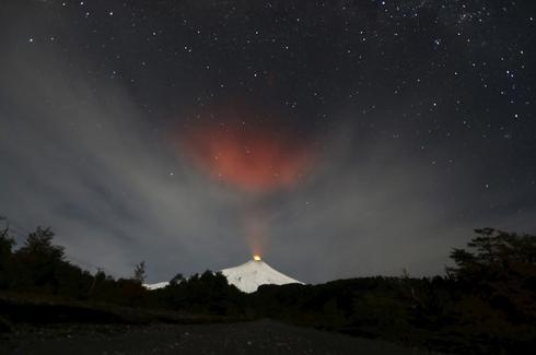 Sleeping volcano awakens
