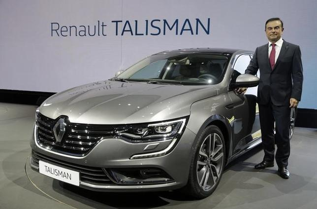 renault launches talisman replacing laggard laguna reuters. Black Bedroom Furniture Sets. Home Design Ideas