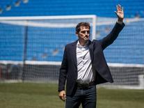 Casillas se despede do Real Madrid. 13/07/2015  REUTERS/Andrea Comas